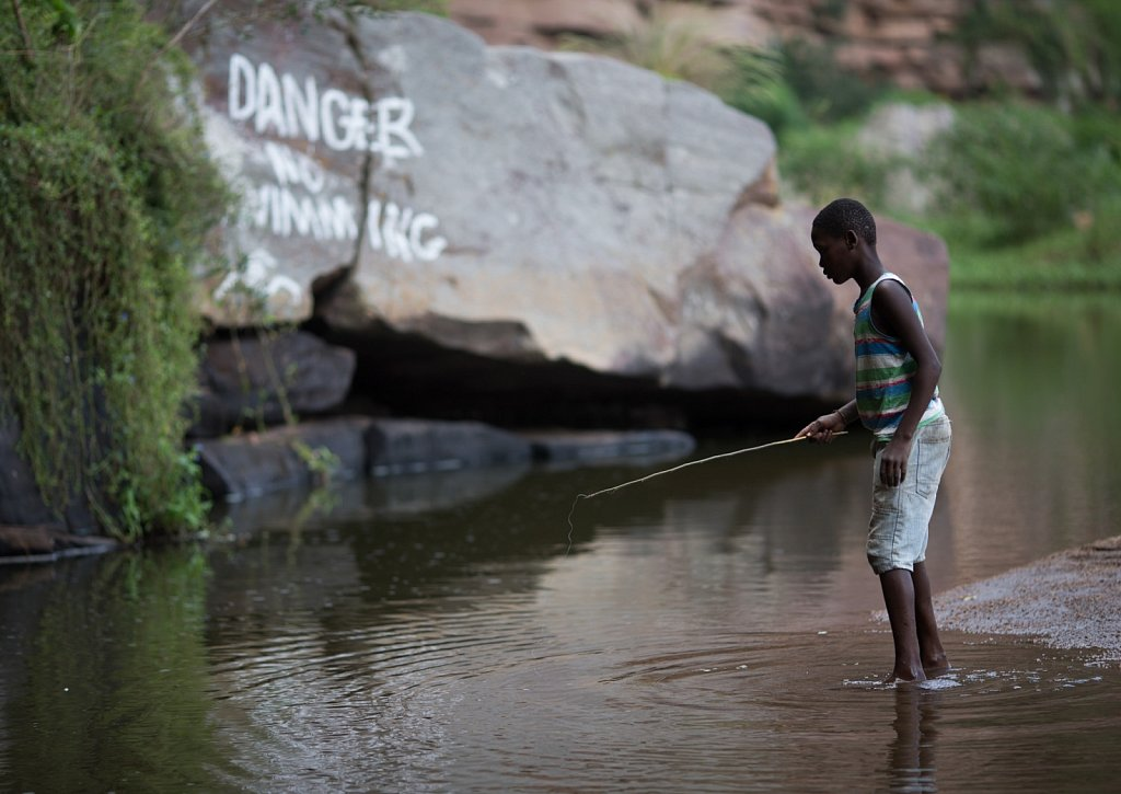 Mlazi River Fisherman